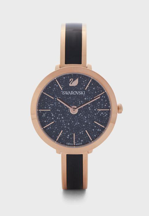 Crystalline Analog Watch