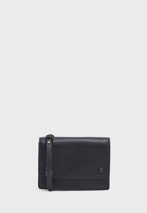 Nana Flap Over Belted Crossbody