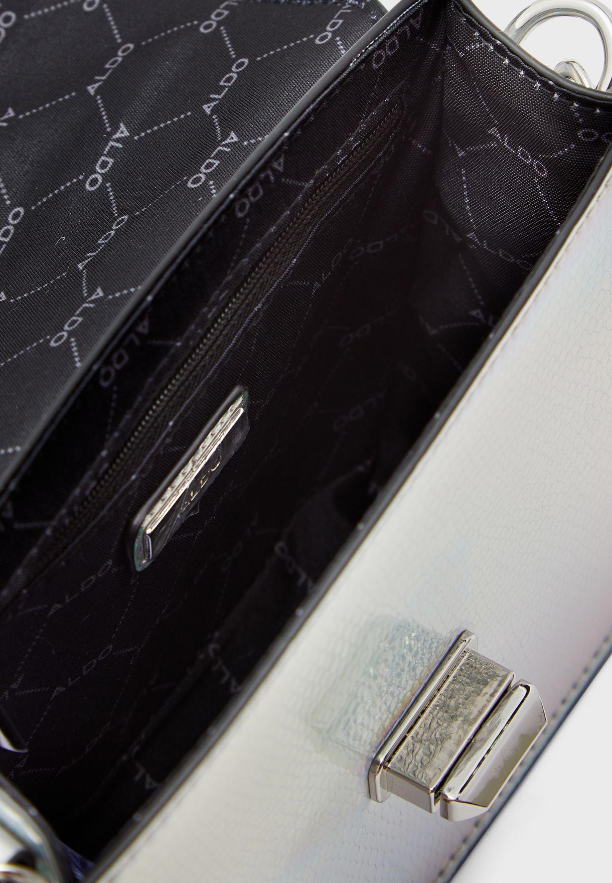 Ebblemead Top Handle Chain Detail Crossbody