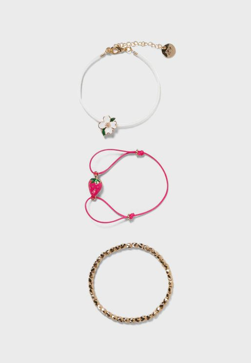 Kids 3 Pack Bracelet