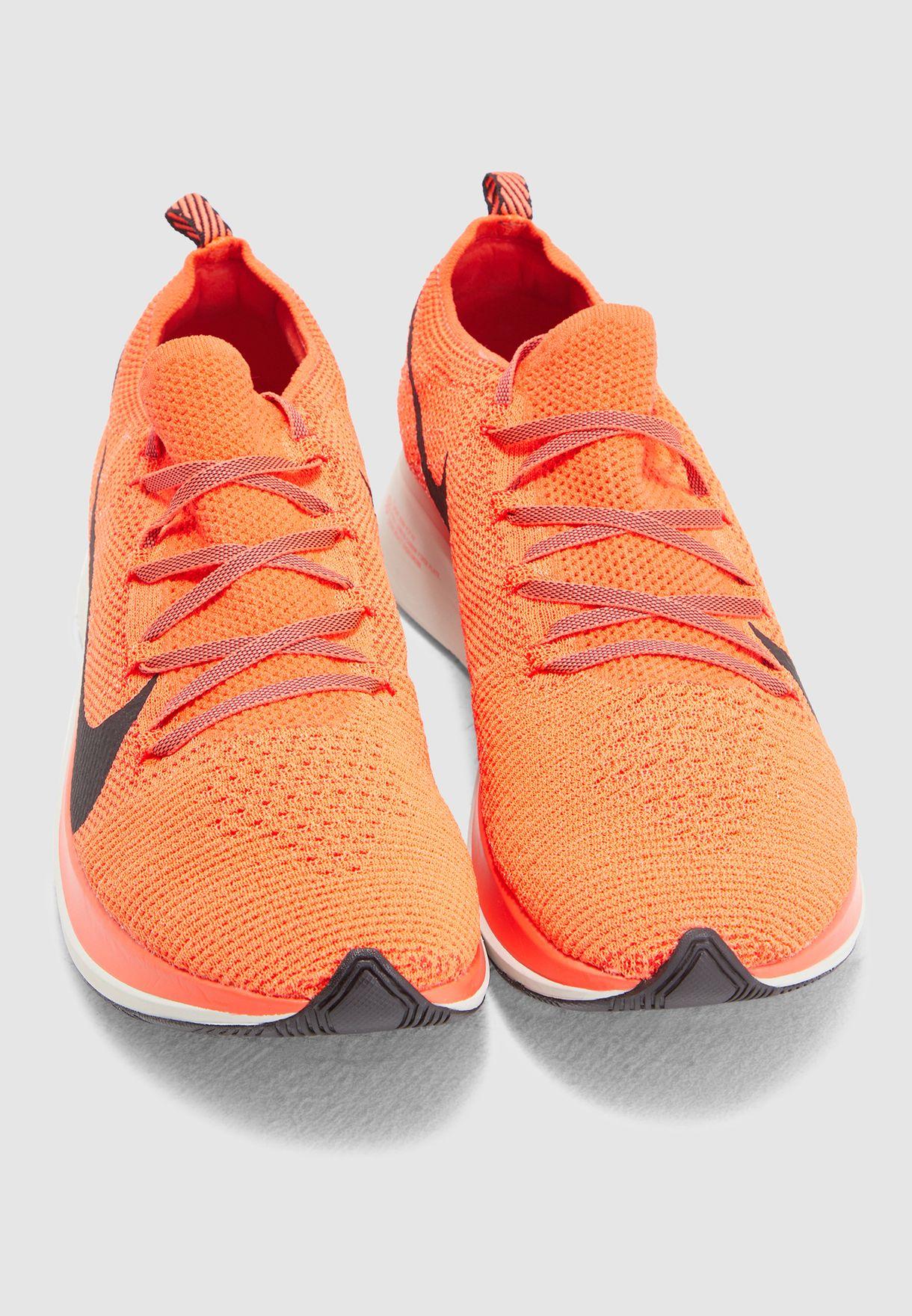 aaf48c47194b Shop Nike orange Zoom Fly Flyknit AR4561-600 for Men in Bahrain ...