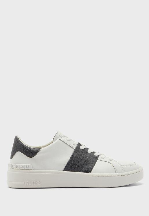Verona Stripe Low Top Sneakers