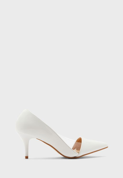 Clear Side Pointed Pump