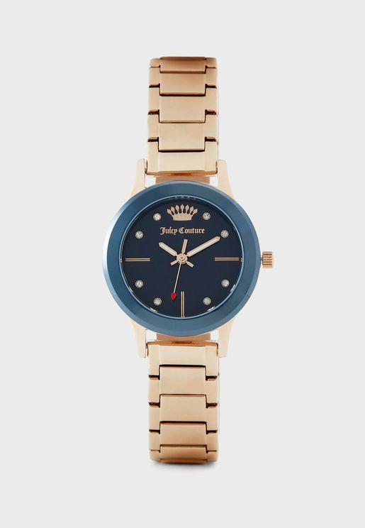 ساعة من مجموعة جوسي كوتور ×بلاك ليبل