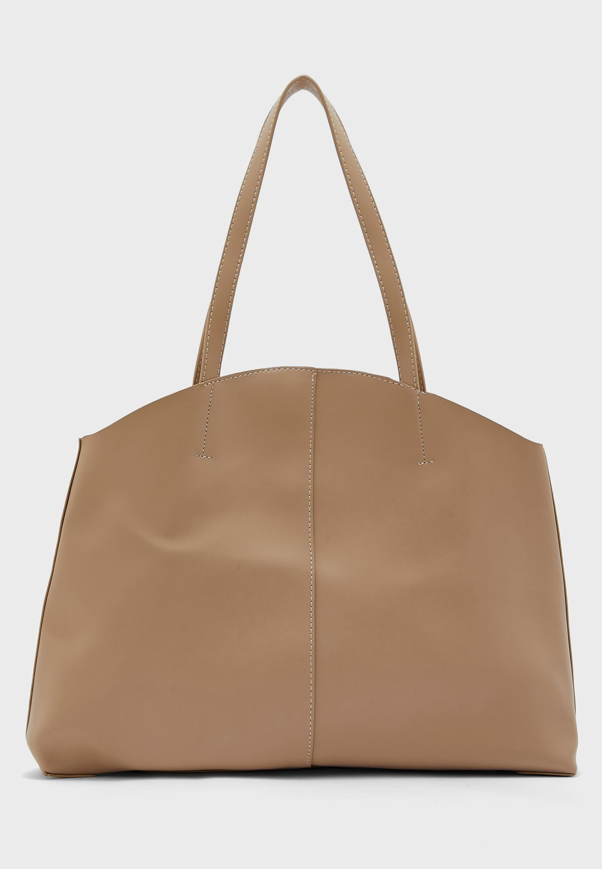 Oversized Curved Edge Tote Bag