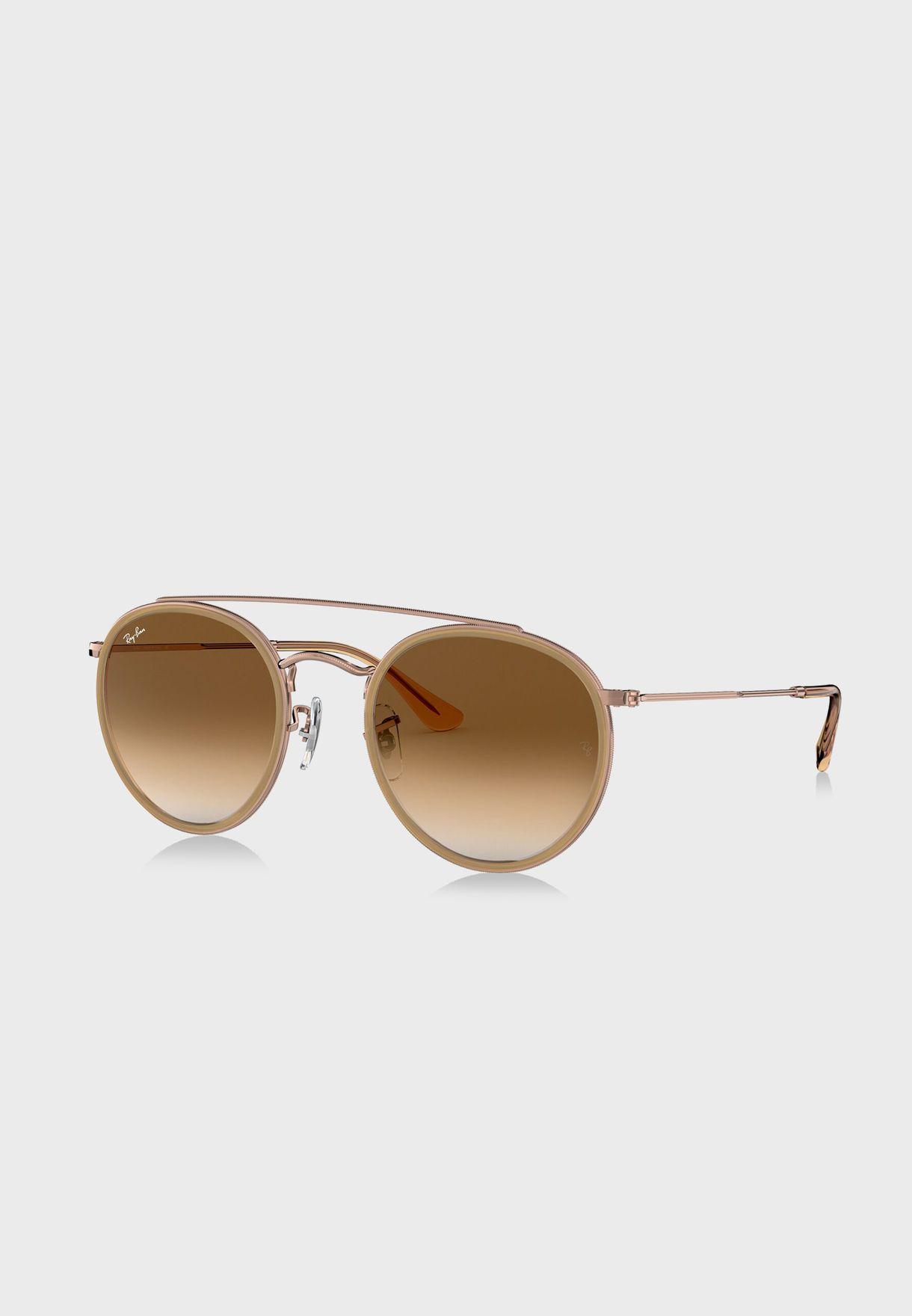 0RB3647N Round Sunglasses