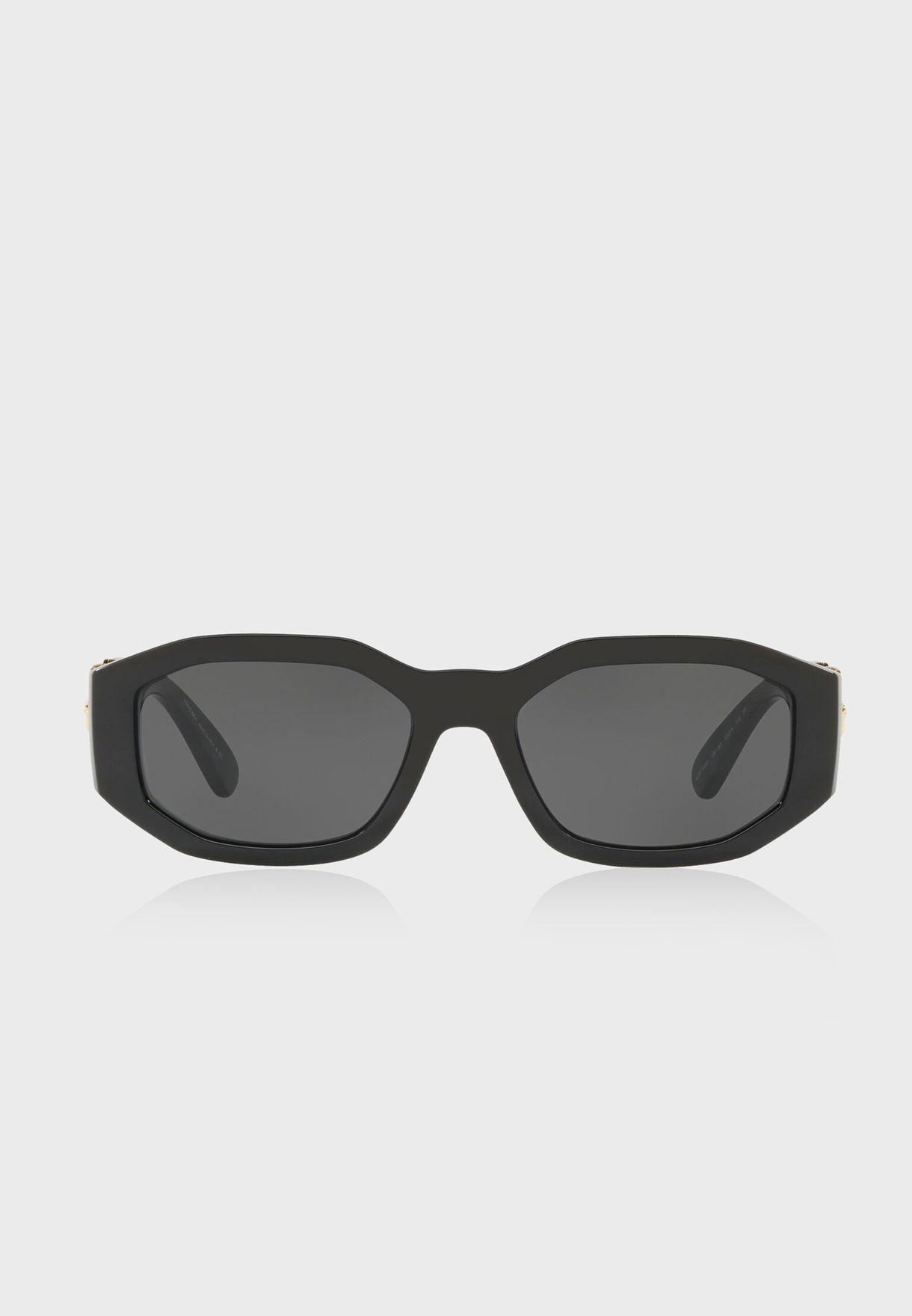 568955be7a16 Shop Versace black 0VE4361 Sunglasses 8.05367E+12 for Men in UAE ...