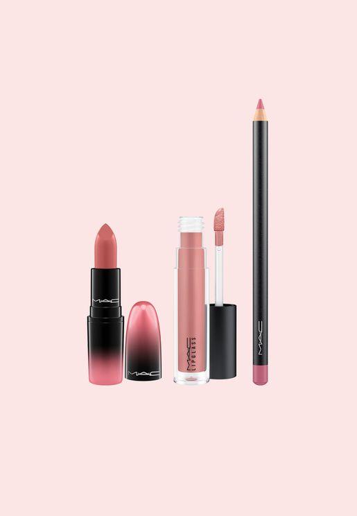 Love Me Lipstick Kit Pink