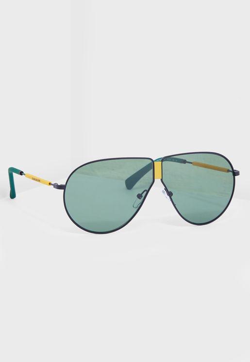 CKJ19102S Aviator Sunglasses