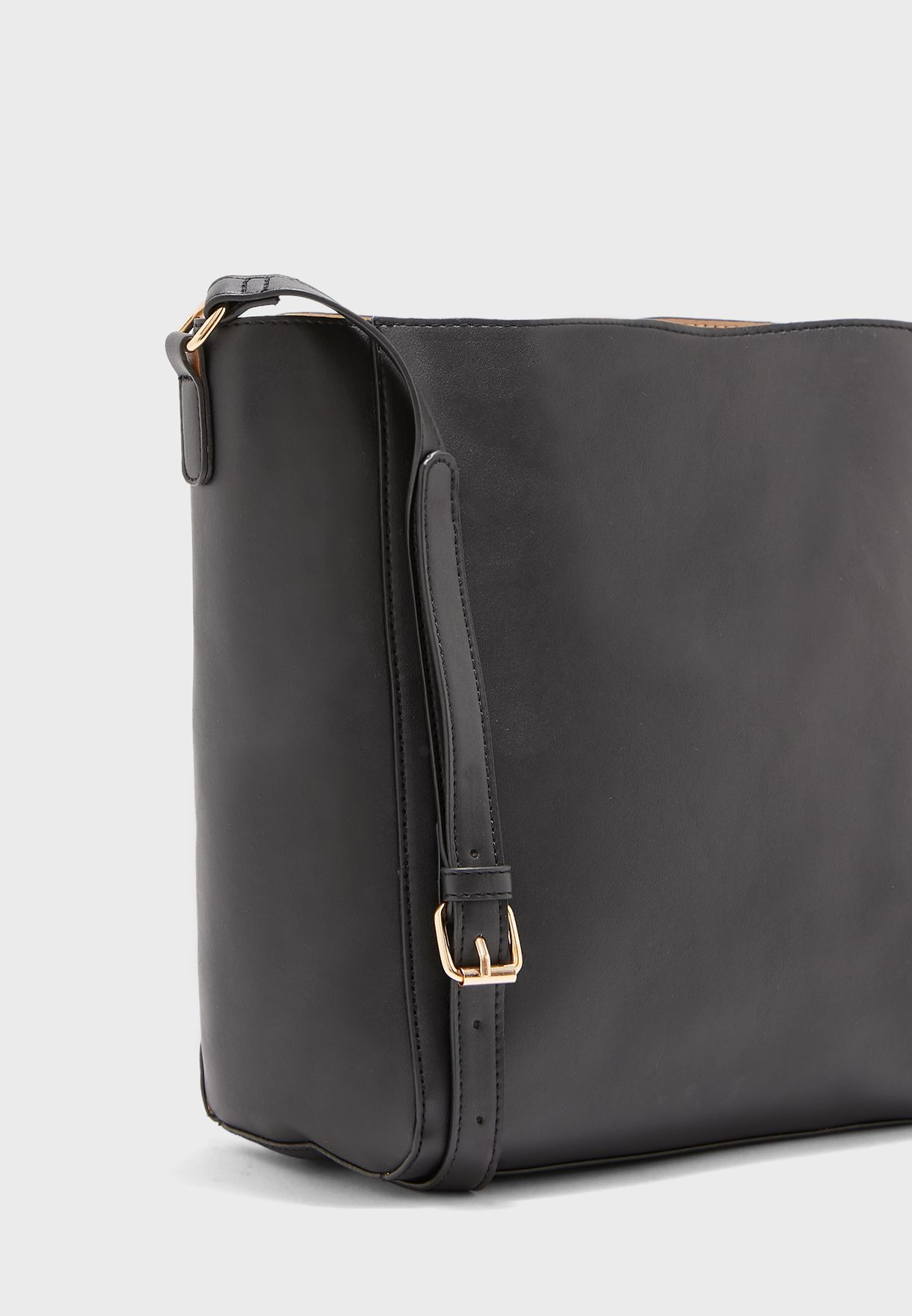 Handbag With Strap Detail