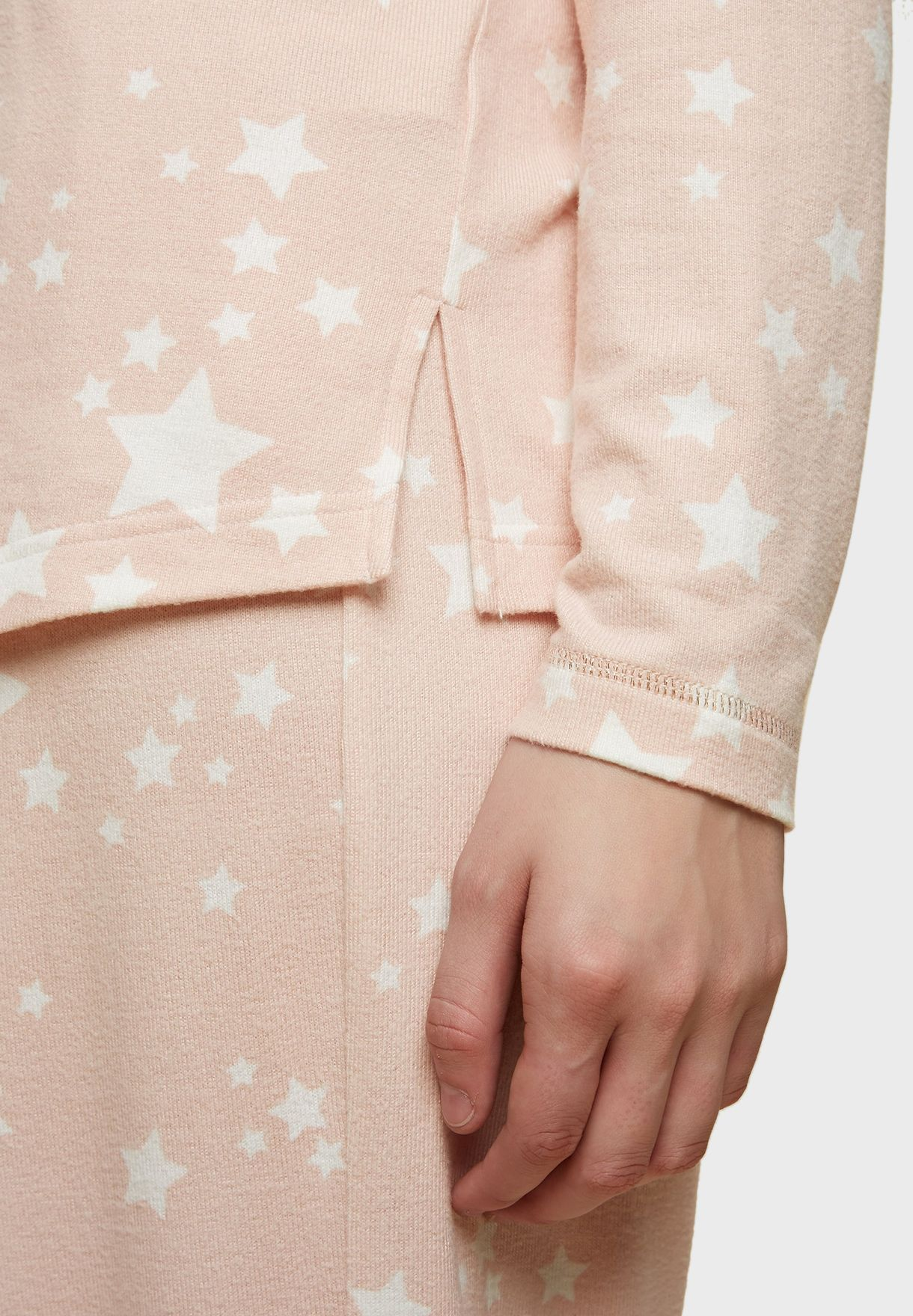 Star Printed Twosie