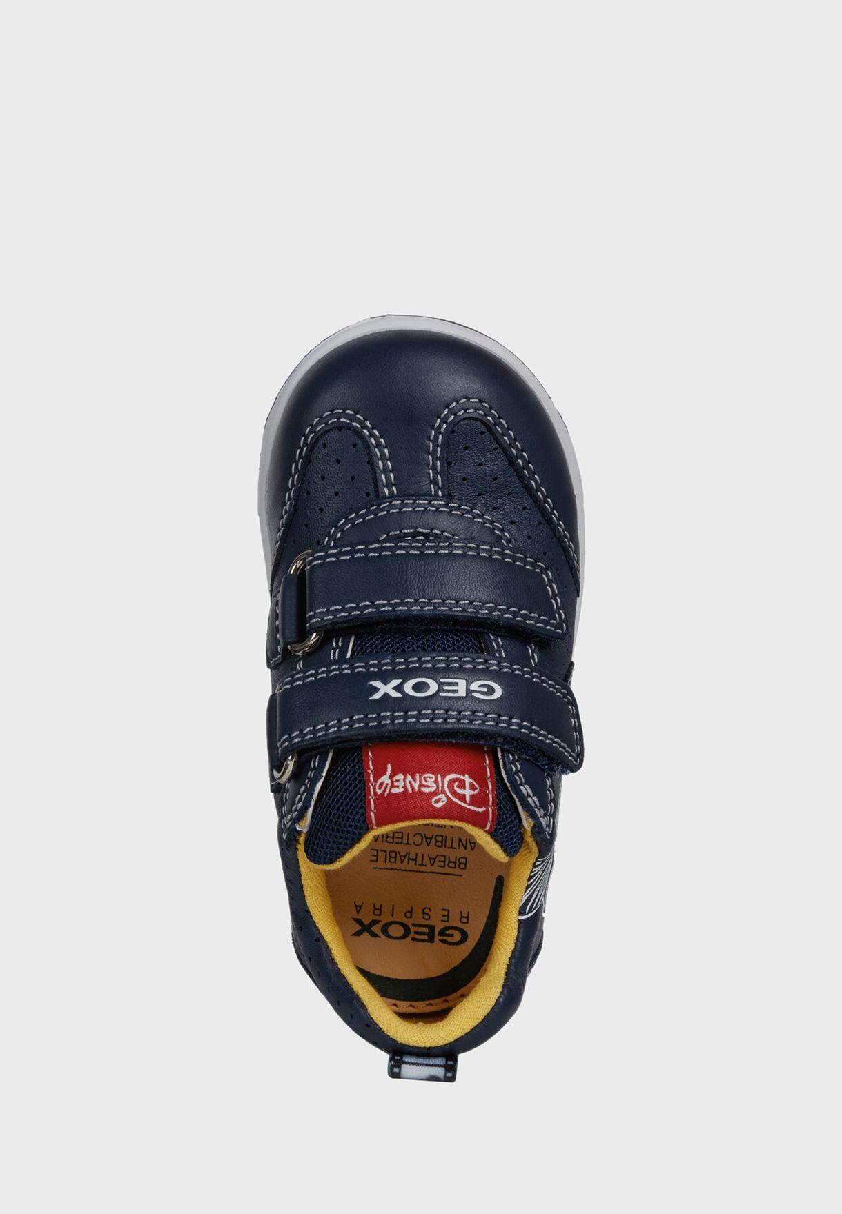 Kids New Flick Velcro Low Top Sneaker