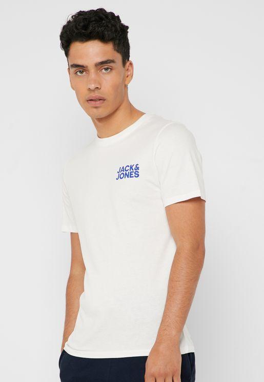Corp Logo Crew Neck T-Shirt