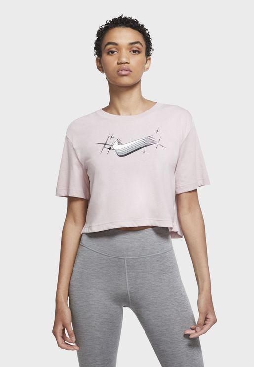 Dri-FIT Goddess Cropped T-Shirt