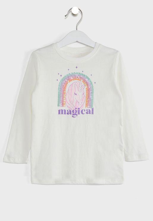 Kids Magical Unicorn Top