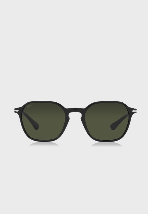 0Po3256S Wayfarer Sunglasses