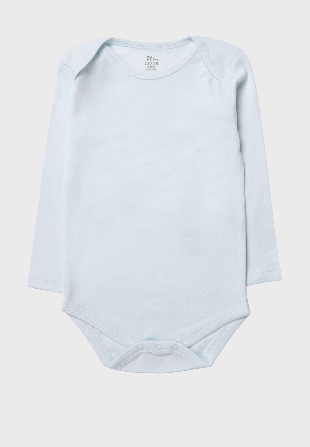 Infant  5 Pack Printed Bodysuit