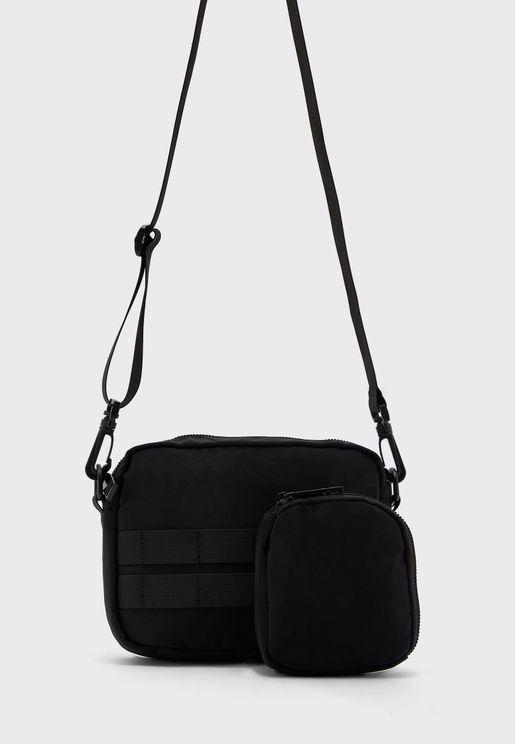 Plain Messenger Bag