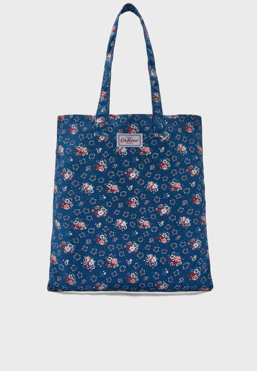 Lucky Bunch Cotton Shopper