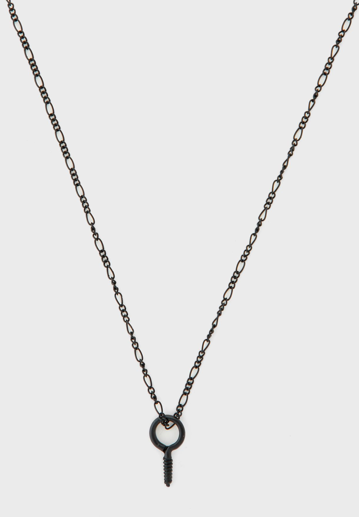 Conversational Industrial Necklace