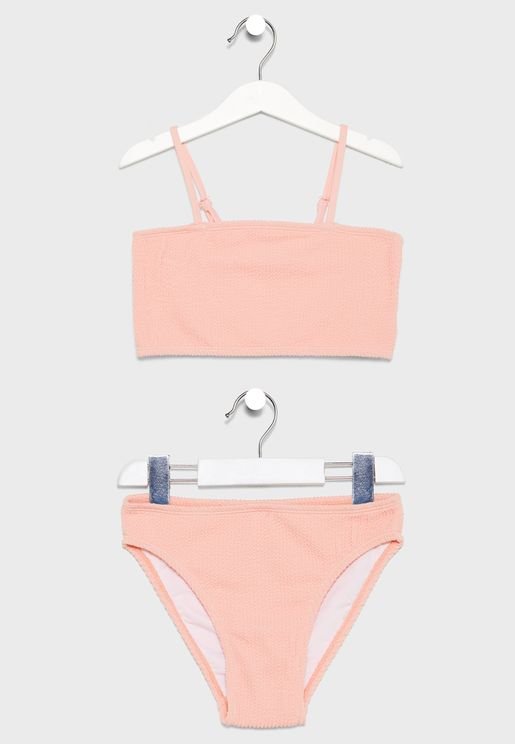 Kids Millie Ribbed Bikini