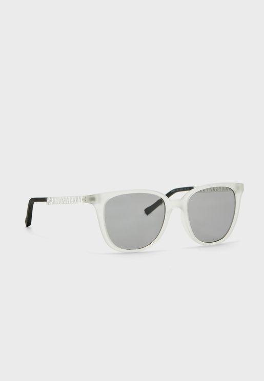 Dk509S Oval Shape Sunglasses
