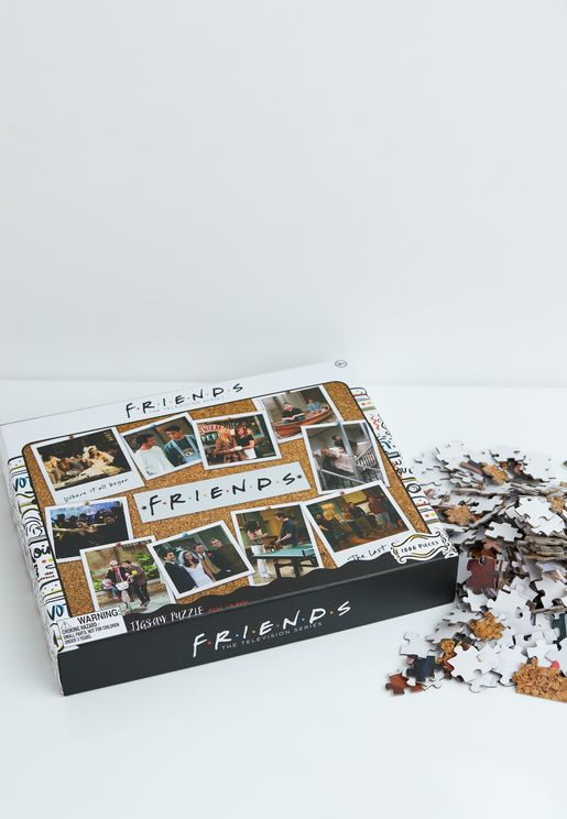 Friends 1000-Pieces Collage Jigsaw