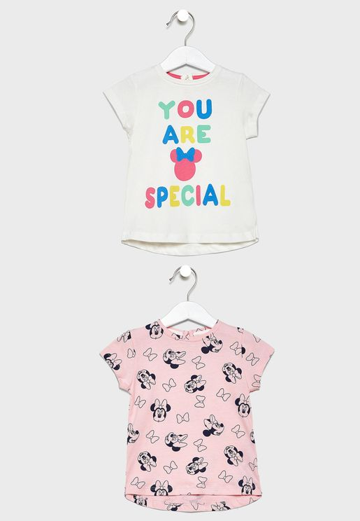 Infant 2 Pack Minnie T-Shirt