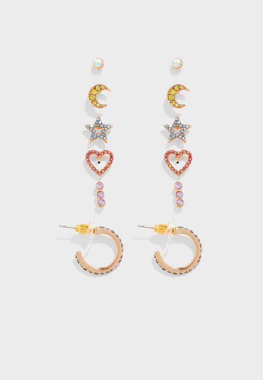 Multipack Henriet Earrings
