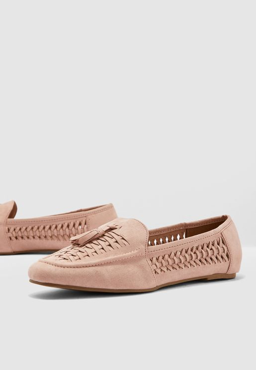 Wide Fit Jove Loafer - Nude