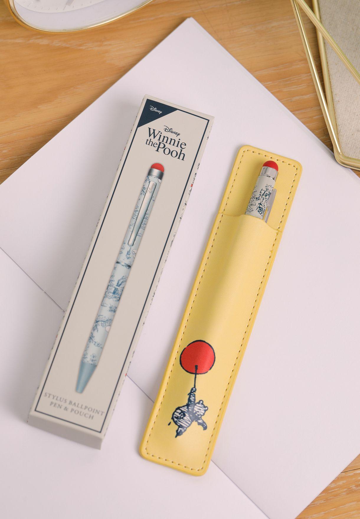 قلم حبر وحافظة ويني ذا بو