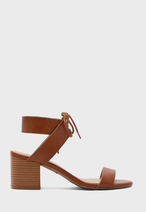 Acelassa Mid Heel Sandal