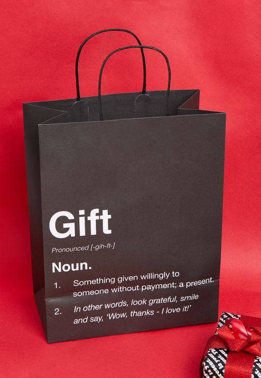 This Is Your Present Craft Medium Gift Bag