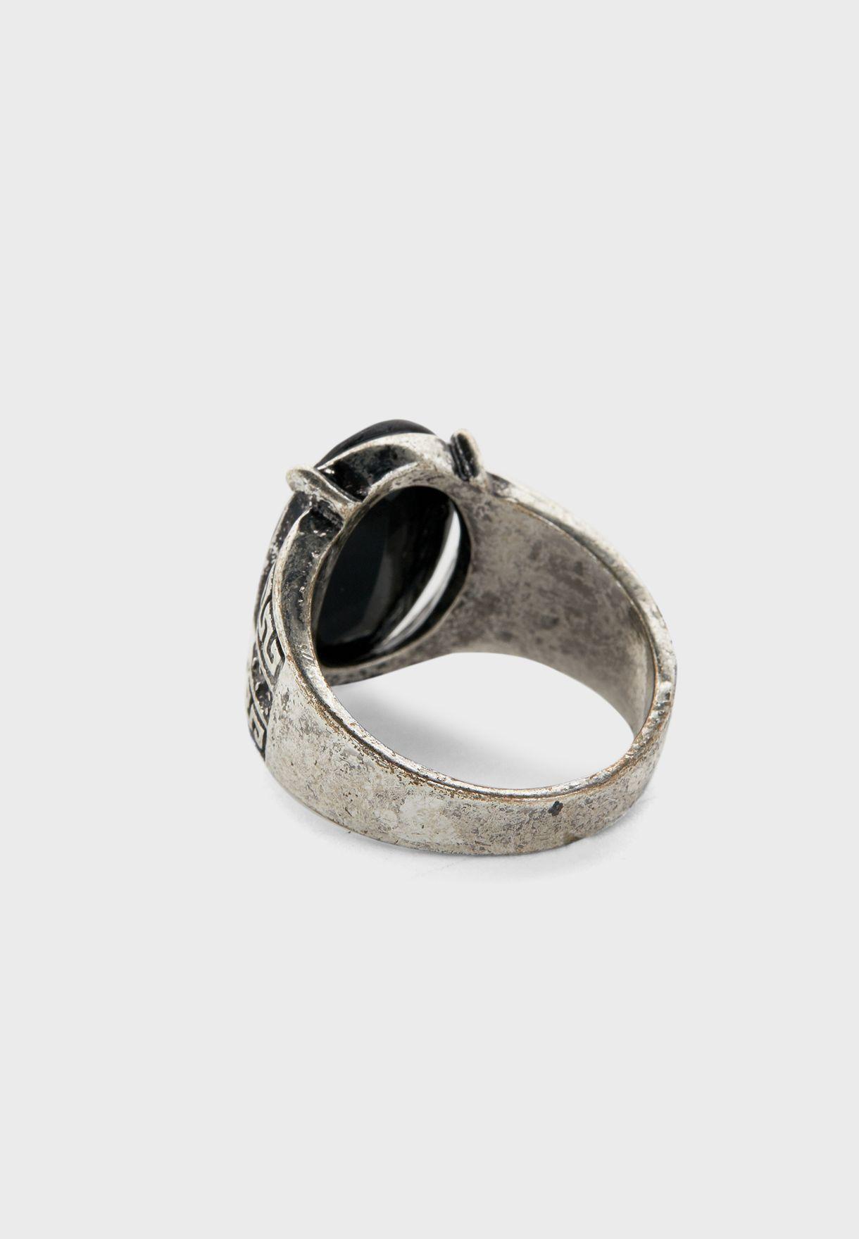 Back Stone Ring
