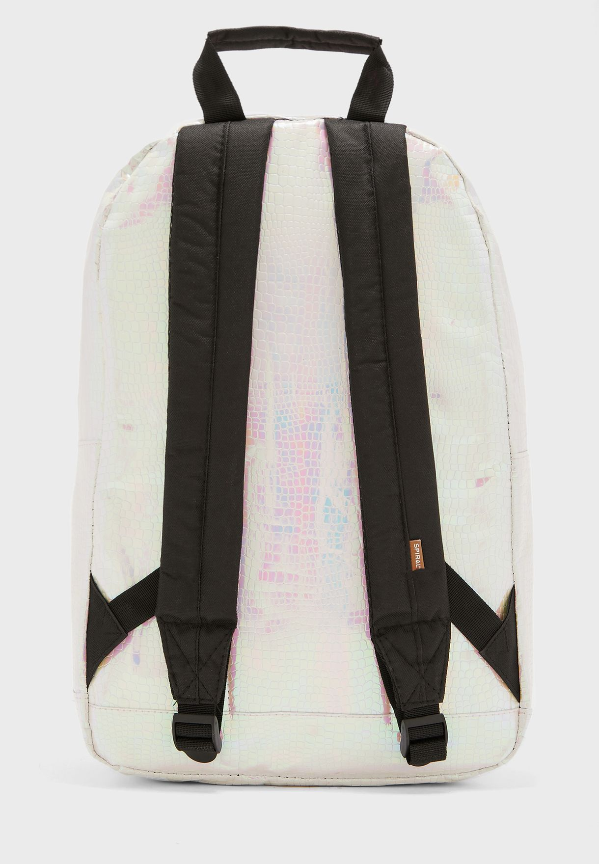 Iridescent Holographic Backpack