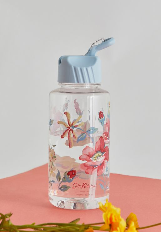 Floral Water Bottle 1 Ltr