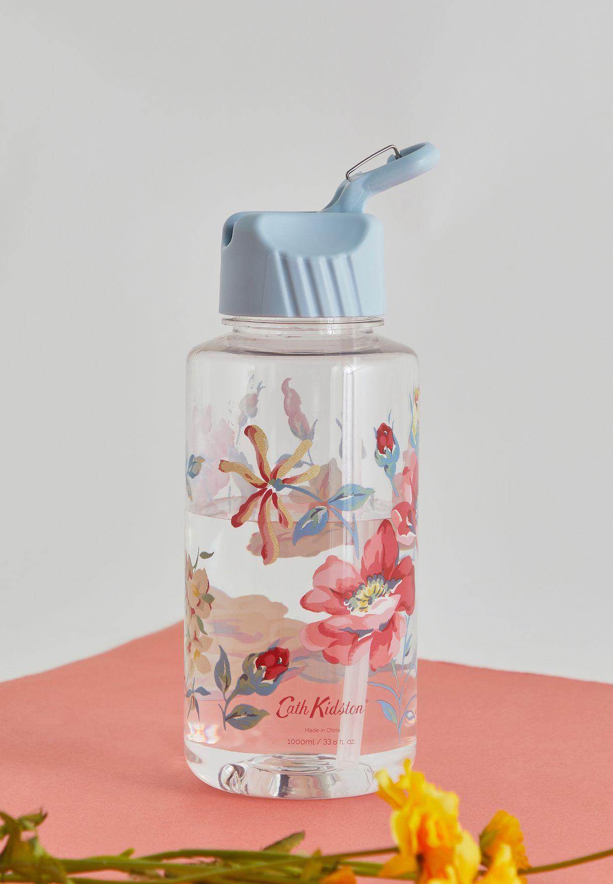 Floral Water Bottle 1 Ltr