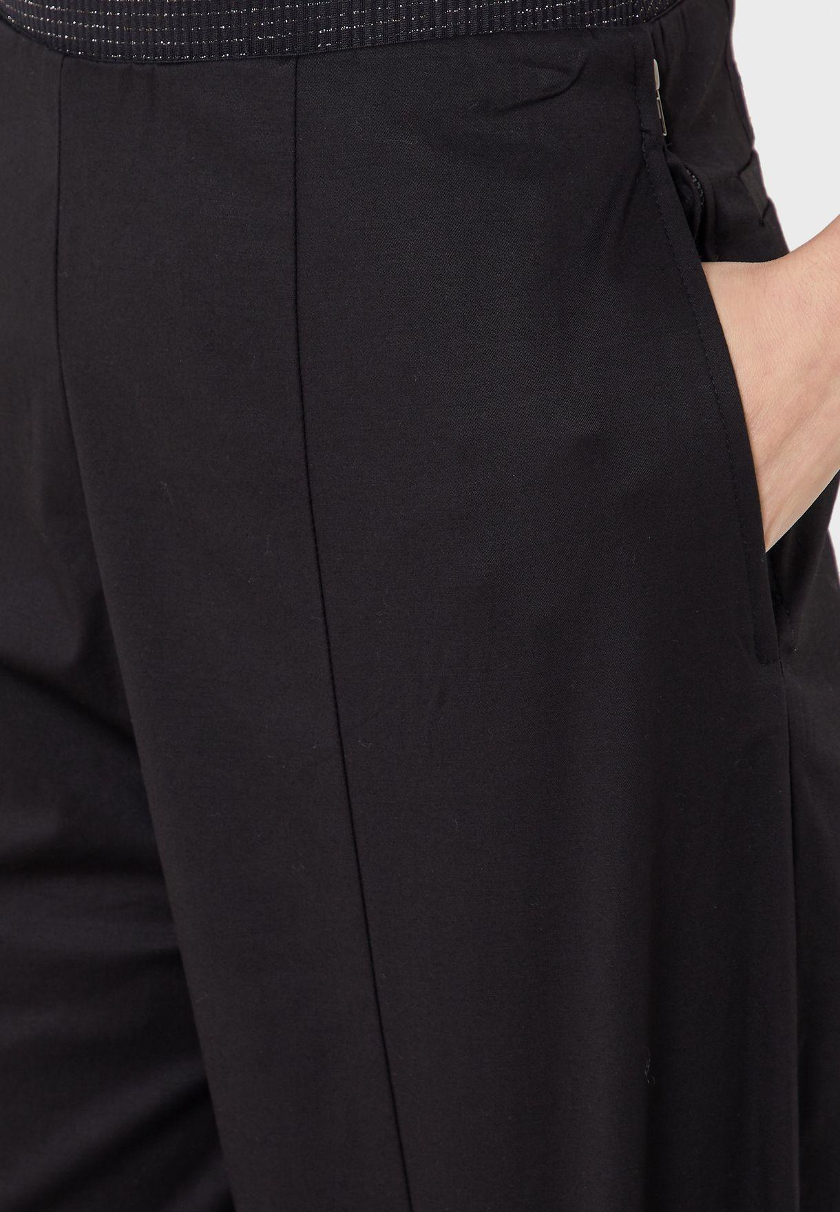 Buy Anotah Black Balloon Pants For Women, Uae 24424at11qfp