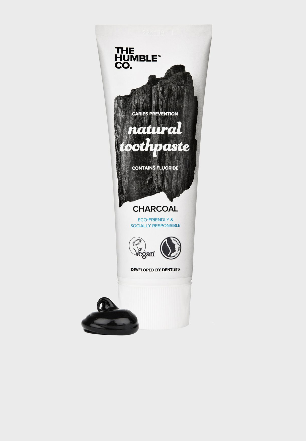 Natural Charcoal Toothpaste