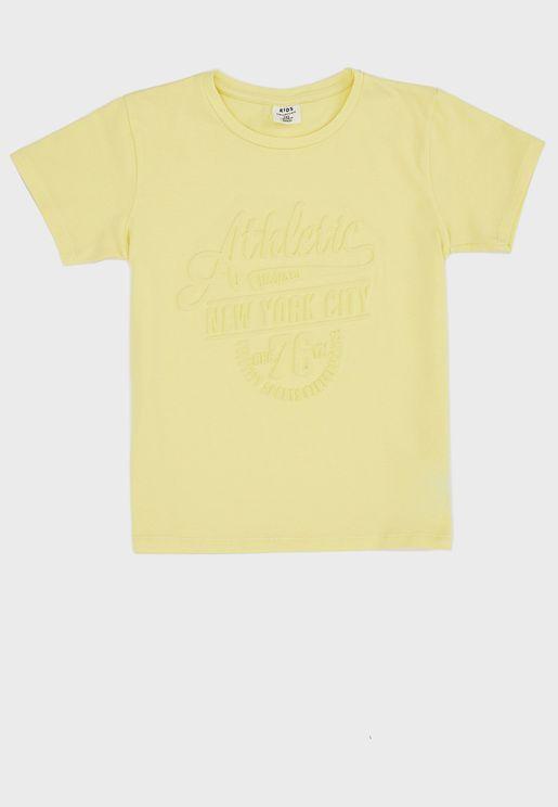 Kids Athletic T-Shirt