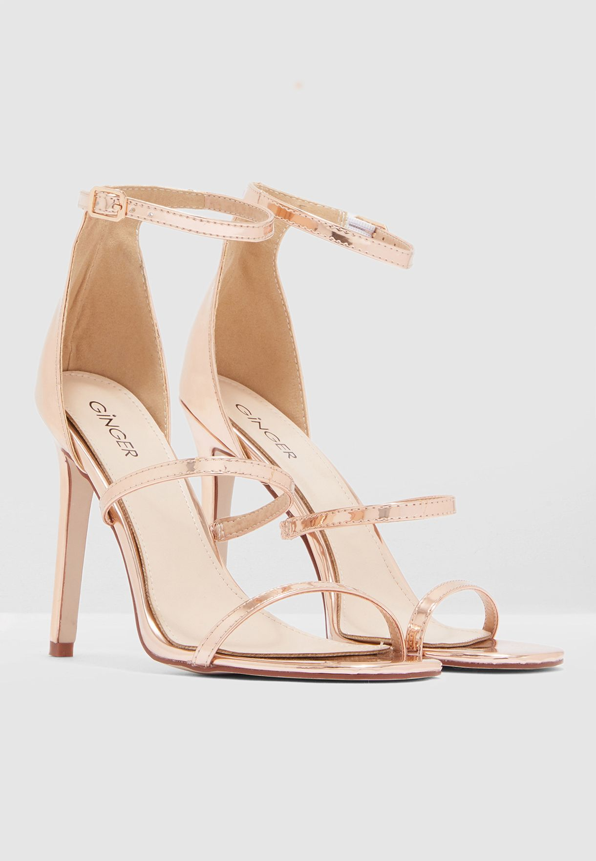 Barely There Sandal With High Back
