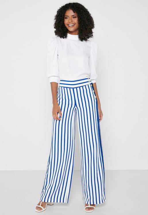 Riveria Striped Pants