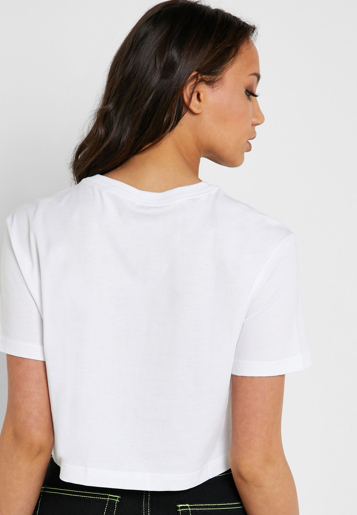 Essential Futura Icon Cropped T-Shirt