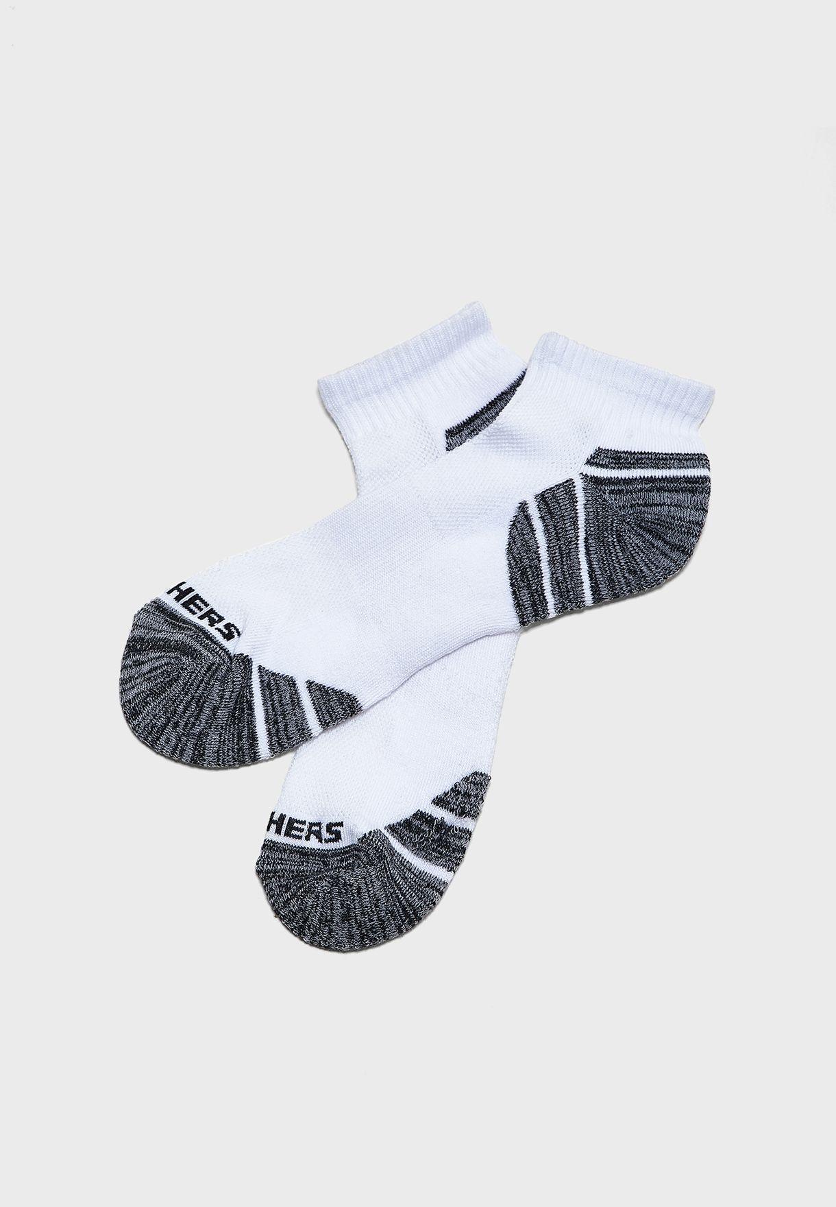 3 Pack Quarter Crew Socks