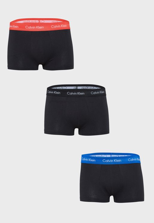 3 Pack Logo Band Trunks