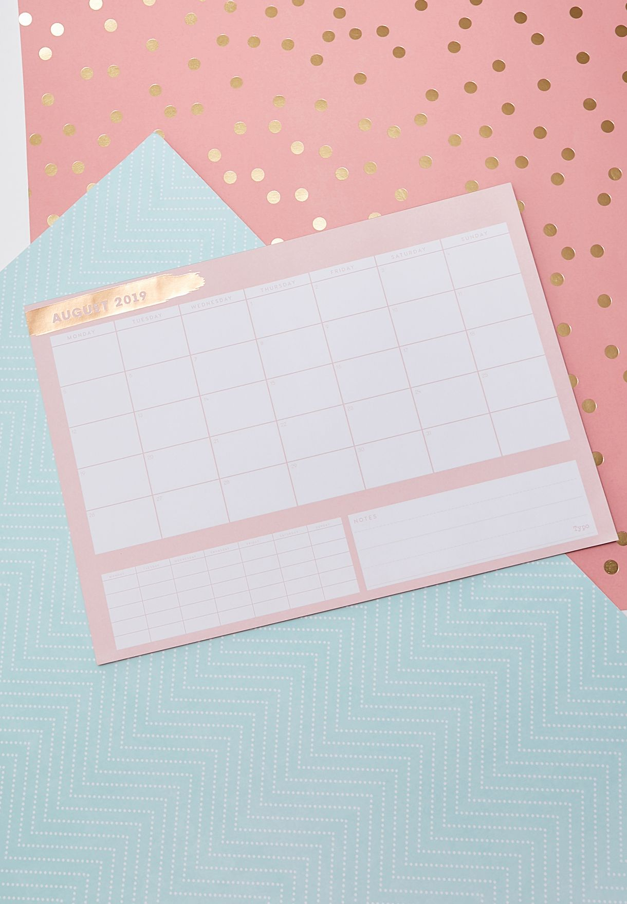 2019/20 A3 Plan Ahead Planner