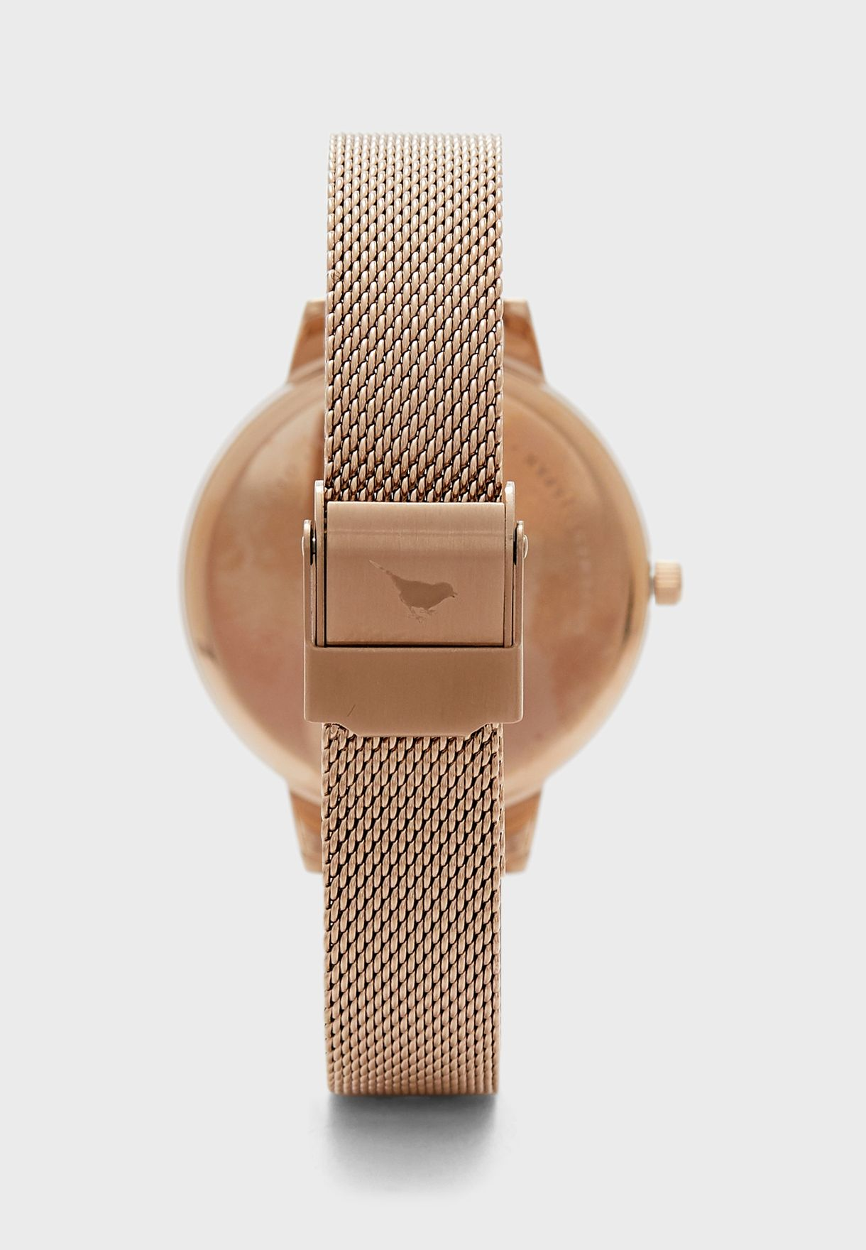 Wildflower Analog Watch