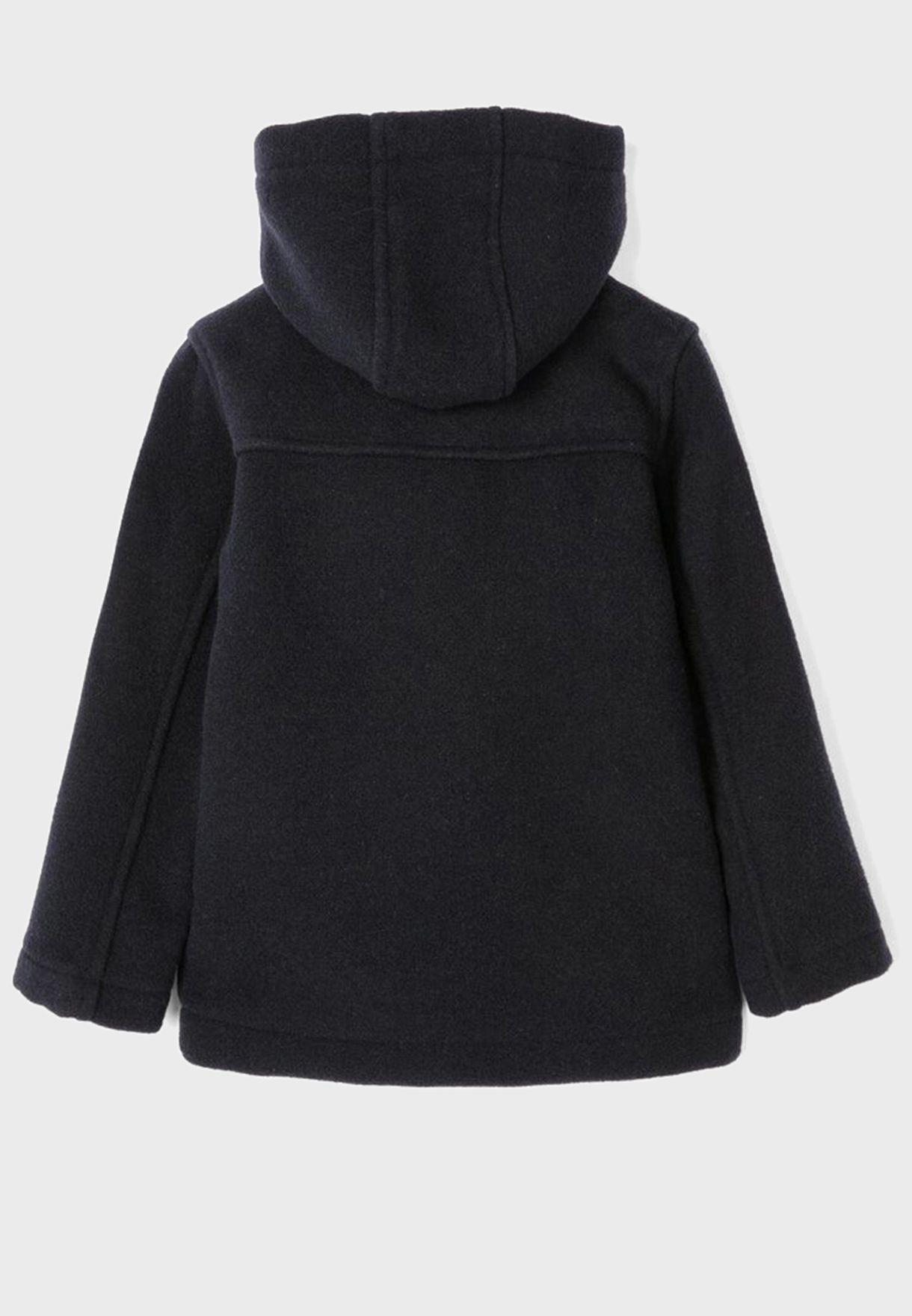 معطف بياقة هودي للاطفال
