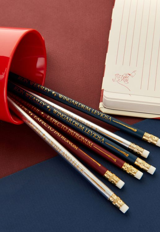 Set Of 6 Harry Potter Pencils