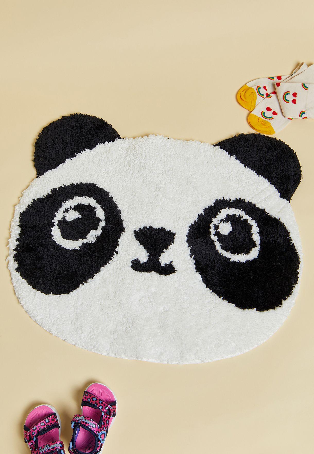 Panda Shaped Rug